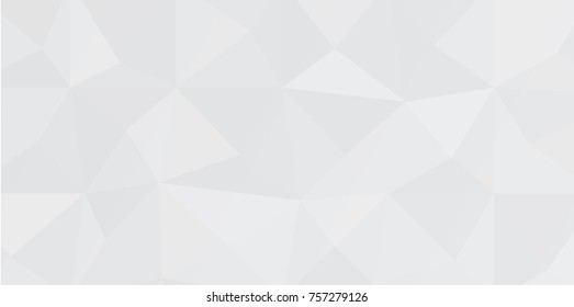 Low poly white and gray abstrat background, vector, esp10