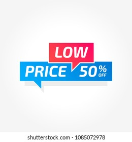 Low Price 50% Off Commercial Tag