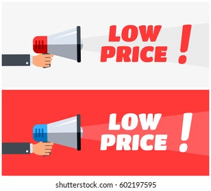 Low Price Megaphone Banners