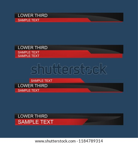 free lower third template - Hizir kaptanband co