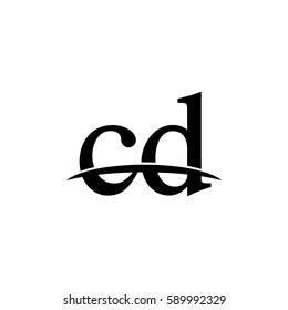Lowercase cd black logo