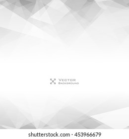 Lowpoly Trendy Background with Copyspace. Vector illustration in polygonal style. Used opacity layers