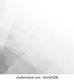 Lowpoly Trendy Background with copy-space. Vector illustration.