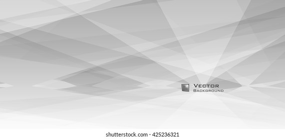 LowPoly Trendy Banner with copyspace. Vector illustration. Used opacity layers