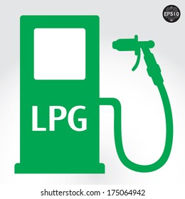 LPG sign, Vector, eps10