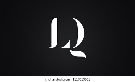 LQ Letter logo Design Template Vector