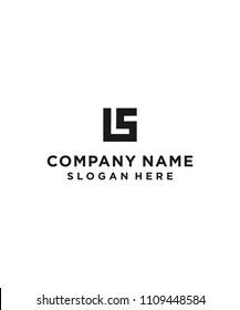 ls / s / square logo