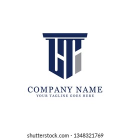 LT initial letter Vector, for accounting and finance company logo design