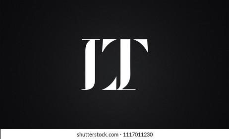 LT Letter Logo Design Template Vector