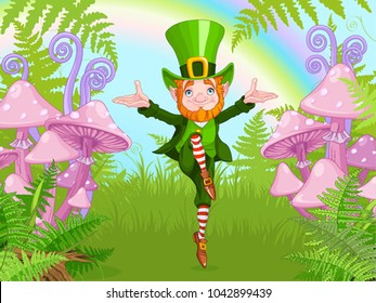 Lucky Dancing Leprechaun