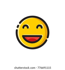 lucky emoji vector