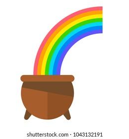 pot of gold rainbow images stock photos vectors shutterstock rh shutterstock com
