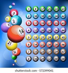 Lucky six balls