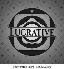 Lucrative dark badge