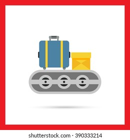 Luggage carousel icon