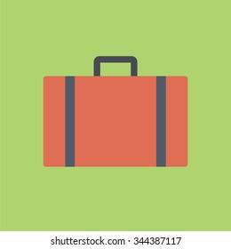 Luggage icon. Travel icon.