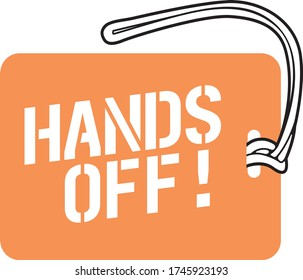 Luggage Tag Template - Hands off