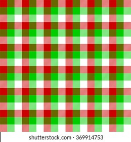 Lumberjack square green red stripes vector
