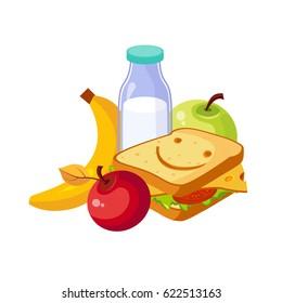 School Lunch Images, Stock Photos & Vectors | Shutterstock
