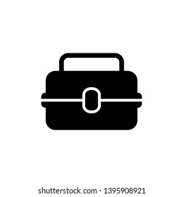 Lunchbox icon design template. Vector EPS 10