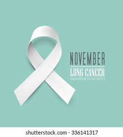 Lung cancer awareness month - November