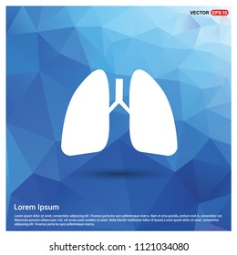 lungs, icon, - Free vector icon