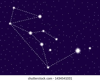 cb1c0e11a Wolf Constellation Images, Stock Photos & Vectors | Shutterstock