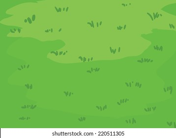The lush green lawns Grass vector