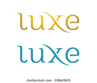 Luxe Letter Logo Template
