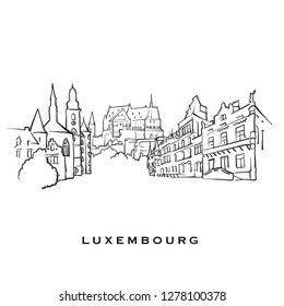 Luxembourg Drawing Images, Stock Photos & Vectors | Shutterstock