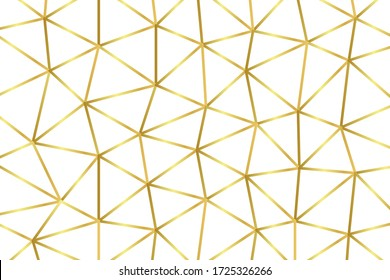 Luxurious Gold Polygon Background, Abstract illustration with gradient for your wallpaper,business design,web site,landing pages,shirt pattern,presentation,ads,poster,banner.