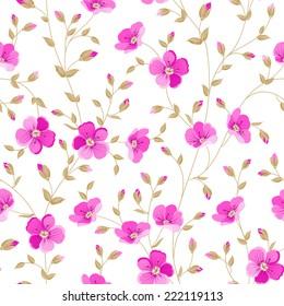 Luxurious peony wallapaper in wintage style. Vector illustration.