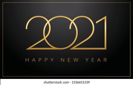 happy new year 2021 images stock photos vectors shutterstock https www shutterstock com image vector luxury 2021 happy new year elegant 1536651539