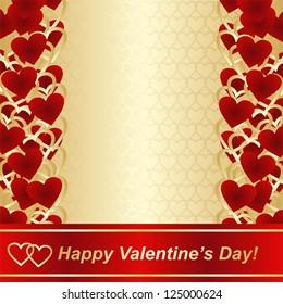 Luxury background for Valentine's day or wedding design.