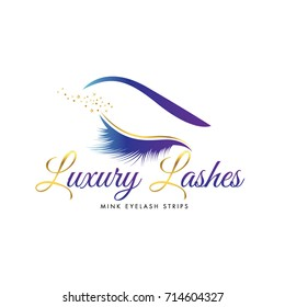 Luxury Beauty Eye Lashes Logo