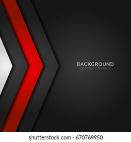 luxury black background banner vector illustration