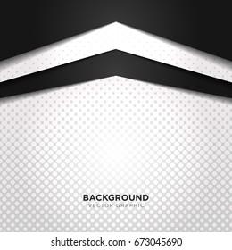luxury black white color background vector illustration