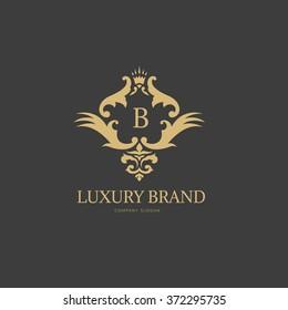 Luxury Brand Logo Design Template
