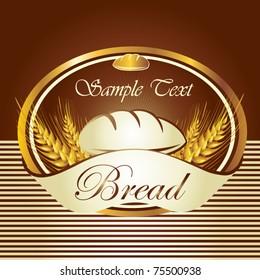 Luxury bread label