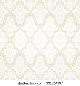 Luxury damask seamless background . Vintage Victorian style pattern.Eastern motifs.Vector illustration