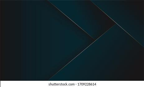 Luxury dark blue background with gold details