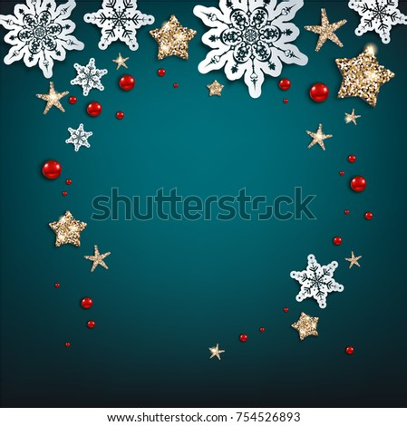 Winter Holiday Banners Frozen Birthday Banners
