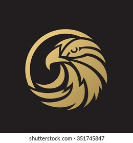 Luxury Eagle Logo