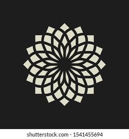 Luxury geometric Royal Logo design