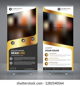 Luxury Gold Business Roll Up