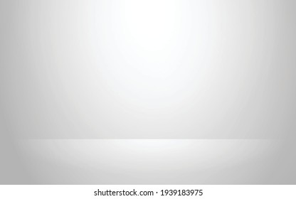 Luxury gray abstract background. Modern layout design, studio ,room. Business report with smooth circle gradient color. Vector illustration