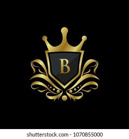Luxury King B Letter Logo