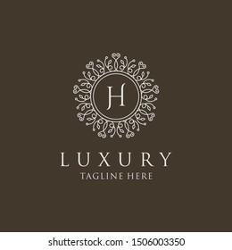 Luxury Logo Template Stock Vector