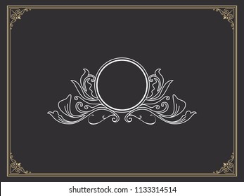 Luxury Logo template in vector for Restaurant, Royalty, Boutique, Cafe, Hotel, Heraldic, Jewelry, Fashion and other Design Inspiration