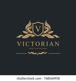 Luxury Logo, Vector Logo template.